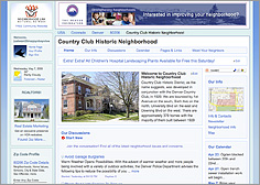 Free Neighborhood Web Site